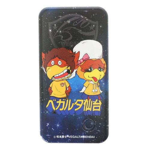 松本零士×ベガルタ仙台コラボ モバイルバッテリー ベガッ太&ルターナ